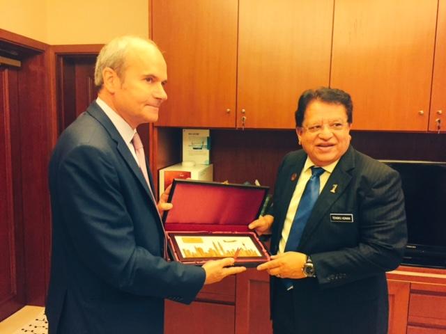 Rencontre avec le ministre des territoires f d raux et secr taire g n ral de la france - Chambre de commerce malaisie ...