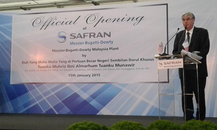 Safran inaugure une nouvelle usine en malaisie la france en malaisie - Chambre de commerce malaisie ...