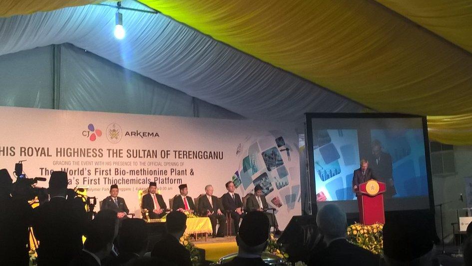 Inauguration de la plateforme de thiochimie d arkema en malaisie la france en malaisie - Chambre de commerce malaisie ...