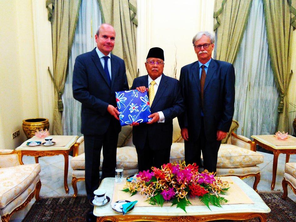 Entretien avec le gouverneur de penang 1er juin 2016 la france en malaisie - Chambre de commerce malaisie ...